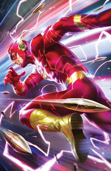 FLASH #61 B DC Derrick Chew Variant (01/02/2019)