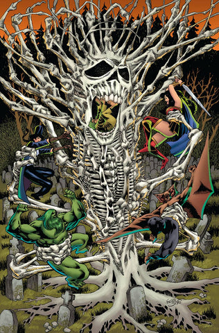 JUSTICE LEAGUE DARK #7 B DC Kelley Jones Variant (01/16/2019)