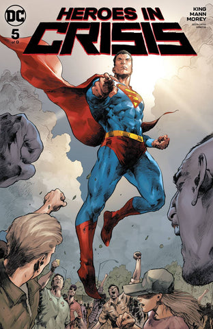 HEROES IN CRISIS #5 (OF 9) A DC Trevor Hairsine Tom King (01/30/2019)