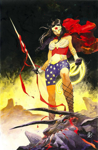 WONDER WOMAN #62 B DC Matteo Scalera Variant (01/16/2019)