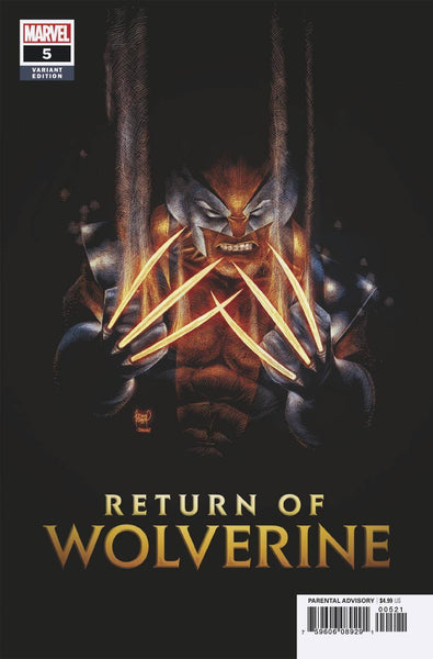RETURN OF WOLVERINE #5 (OF 5) B Marvel Adam Kubert Variant (02/20/2019)