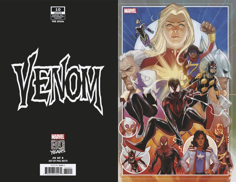 VENOM #10 B Marvel Phil Noto 80TH Variant Donny Cates (01/16/2019)
