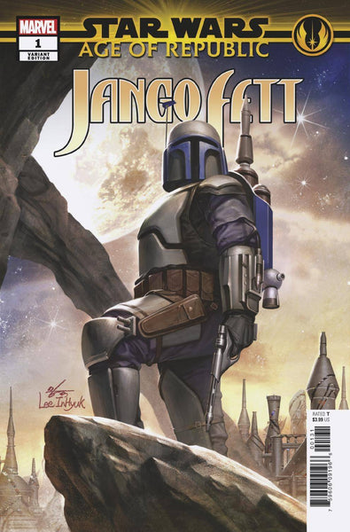 STAR WARS AOR JANGO FETT #1 B Marvel In-Hyuk Lee Variant (01/09/2019)