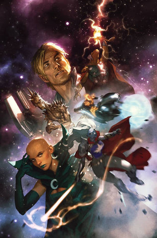 GUARDIANS OF THE GALAXY #1 Marvel 1:25 Gerald Parel Variant (01/23/2019)