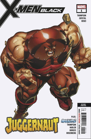 X-MEN BLACK JUGGERNAUT #1 Marvel 2nd Print J Scott Campbell Variant (11/21/2018)