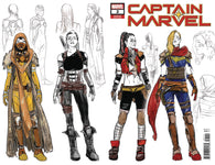 CAPTAIN MARVEL #2 C 1:10 Carmen Nune Carnero Design Variant (02/13/2019)