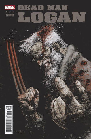 DEAD MAN LOGAN #4 (OF 12) Marvel 1:25 Gerardo Zaffino Variant (02/13/2019)