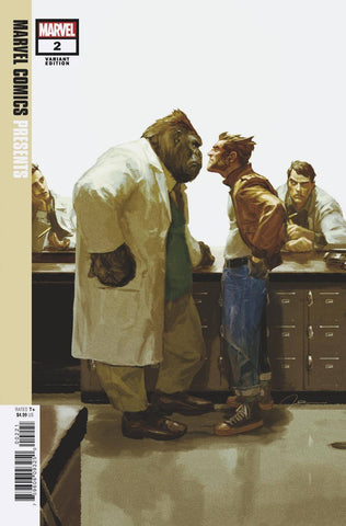 MARVEL COMICS PRESENTS #2 1:50 Gerald Parel Variant (02/27/2019)