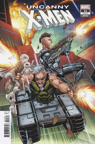 UNCANNY X-MEN #11 E Marvel Ron Lim Variant (02/06/2019)