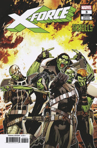 X-FORCE #3 B Marvel Butch Guice SKRULLS Variant Ed Brisson (02/27/2019)
