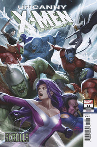 UNCANNY X-MEN #11 D Marvel In-Hyuk Lee SKRULLS Variant (02/06/2019)