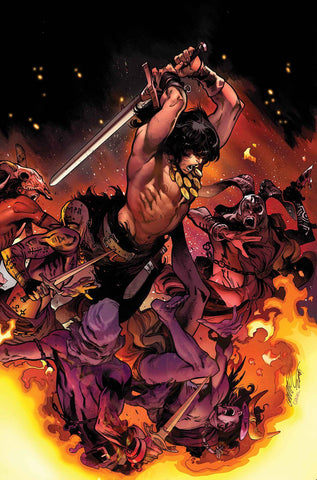 SAVAGE SWORD OF CONAN #2 Marvel 1:25 Pepe Larraz Variant (02/27/2019)