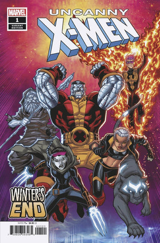 UNCANNY X-MEN WINTERS END #1 B Marvel Ron Lim Variant Sina Grace (02/27/2019)