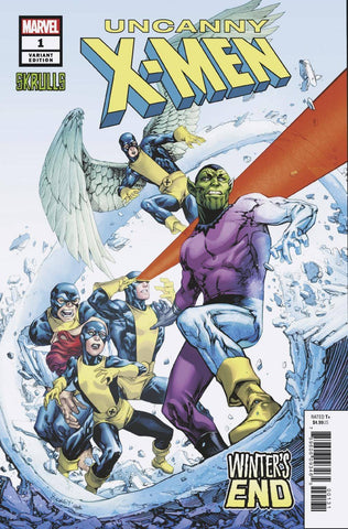 UNCANNY X-MEN WINTERS END #1 C Marvel SKRULLS Variant Sina Grace (02/27/2019)