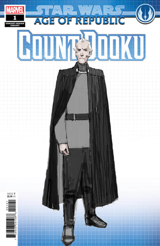 STAR WARS AOR COUNT DOOKU #1 B Marvel CONCEPT Variant (02/13/2019)