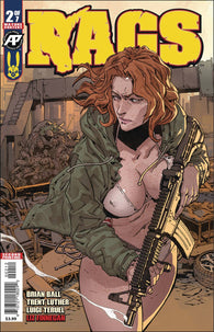 Rags #2 Antarctic Press 2nd Print Luigi Teruel Variant Zombies (12/12/2018)