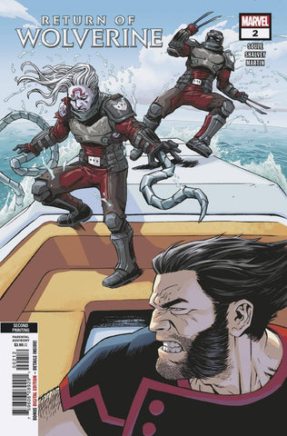 RETURN OF WOLVERINE #2 (OF 5) Marvel 2nd Print Declan Shalvey Variant (01/02/2019)