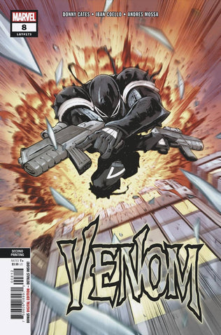 VENOM #8 Marvel 2nd Print Iban Coello Variant Ryan Stegman Donny Cates (01/02/2019)