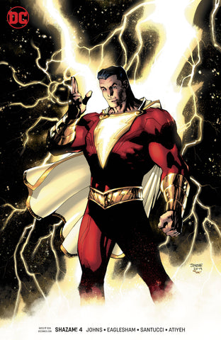 SHAZAM #4 B Jim Lee Movie Variant Geoff Johns (03/20/2019) DC