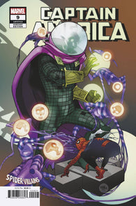 CAPTAIN AMERICA #9 Pasqual FERRY SPIDER-MAN VILLAINS Variant Ta-Nehisi Coates (04/03/2019) MARVEL