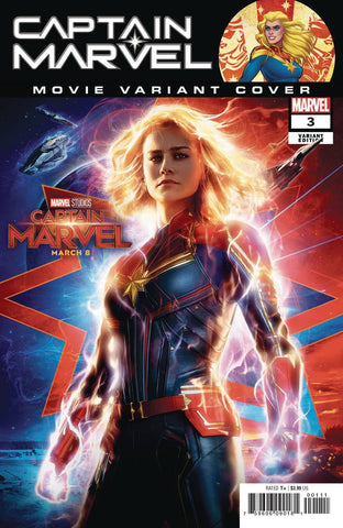 CAPTAIN MARVEL #3 MOVIE Variant (03/20/2019) MARVEL