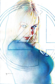 FANTASTIC FOUR #8 1:25 Bill Sienkiewicz Variant Invisible Woman (03/27/2019) MARVEL