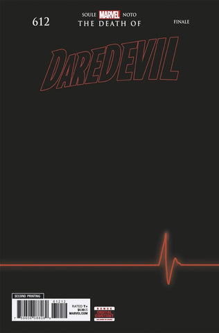 DAREDEVIL #612 A Marvel 2nd Print Phil Noto Variant (01/09/2019)
