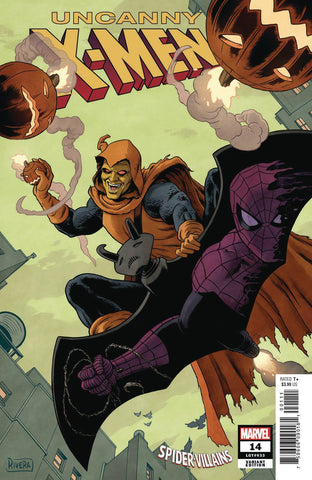UNCANNY X-MEN #14 Paolo RIVERA SPIDER-MAN VILLAINS Variant (03/20/2019) MARVEL