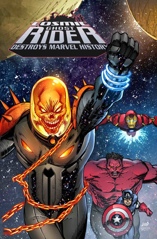 COSMIC GHOST RIDER DESTROYS MARVEL HISTORY #1 (OF 6) 1:25 Rob Liefeld Variant (03/06/2019) MARVEL