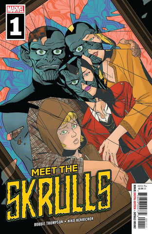 MEET THE SKRULLS #1 (OF 5) Martin Marcos Robbie Thompson 1st Warners (03/06/2019) MARVEL