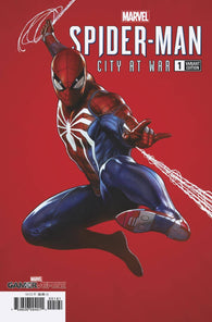 MARVELS SPIDER-MAN CITY AT WAR #1 (OF 6) 1:100 Adi Granov Variant PS4 (03/20/2019) MARVEL
