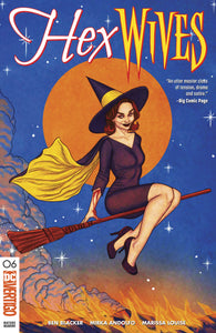 HEX WIVES #6 Jenny Frison Bewitched Homage Elizabeth Montgomery (MR) (03/27/2019) DC
