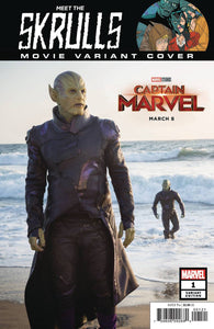 MEET THE SKRULLS #1 (OF 5) 1:10 Movie Photo Captain Marvel Variant (03/06/2019) MARVEL