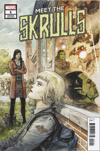 MEET THE SKRULLS #1 (OF 5) 1:50 Niko Henrichon Variant (03/06/2019) MARVEL