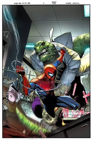 MARVELS SPIDER-MAN CITY AT WAR #1 (OF 6) SPIDER-MAN VILLAINS Variant  (03/20/2019) MARVEL