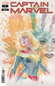 CAPTAIN MARVEL #3 1:25 David Mack Variant (03/20/2019) MARVEL