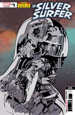 DEFENDERS SILVER SURFER #1 Marvel 2nd Print Jason Latour Variant (01/16/2019)