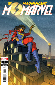 MAGNIFICENT MS MARVEL #2 1:25 Afu Chan Variant (04/17/2019) MARVEL