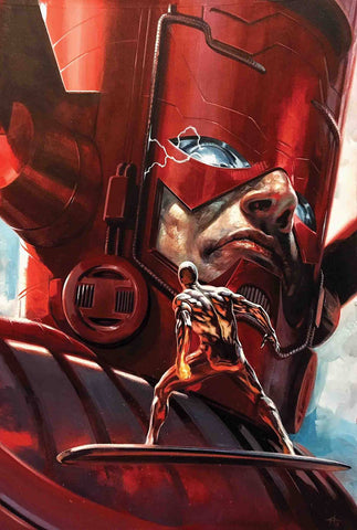 Marvels Annotated #3 B Gabriele Dell'Otto Galactus Silver Surfer Variant (04/24/2019) Marvel