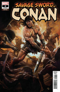 SAVAGE SWORD OF CONAN #4 1:25 Adi Granov Variant (04/10/2019) MARVEL