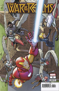 WAR OF REALMS #2 D (OF 6) David LOPEZ INTERNATIONAL Variant Jason Aaron (04/17/2019) MARVEL