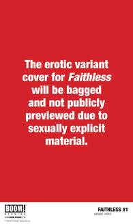 FAITHLESS #1 (OF 5) 2nd Print Maria Llovet Variant (MR) (05/22/2019) BOOM! STUDIOS