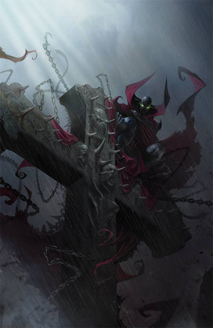 SPAWN #296 B Francesco Mattina VIRGIN Variant (04/24/2019) IMAGE