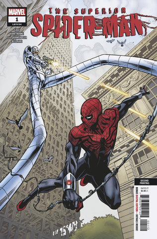 SUPERIOR SPIDER-MAN #1 Marvel 2nd Print Mike Hawthorne Variant (02/06/2019)