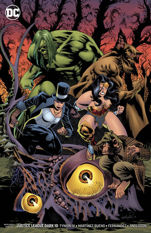 JUSTICE LEAGUE DARK #10 B Kelley Jones Variant (04/24/2019) DC