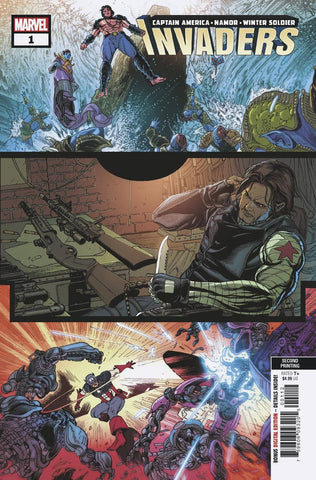 INVADERS #1 Marvel 2nd Print Carlos Magno Variant (02/20/2019)