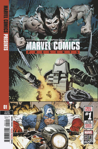 MARVEL COMICS PRESENTS #1 2nd Print Greg Land Variant (02/20/2019)
