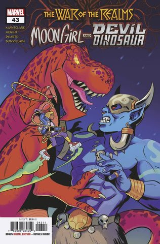 MOON GIRL AND DEVIL DINOSAUR #43 A Natacha Bustos Brandon Montclare (05/22/2019) MARVEL