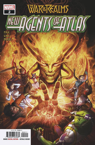 WAR OF REALMS NEW AGENTS OF ATLAS #2 (OF 4) Woo Dae Shim Greg Pak (05/22/2019) MARVEL