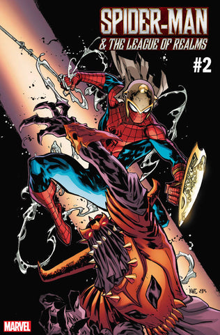 WAR OF REALMS SPIDER-MAN & LEAGUE OF REALMS #2 A (OF 3) Ken Lashley Sean Ryan (05/29/2019) MARVEL